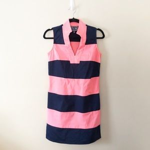 Sail to Sable Classic Striped Tunic Dress